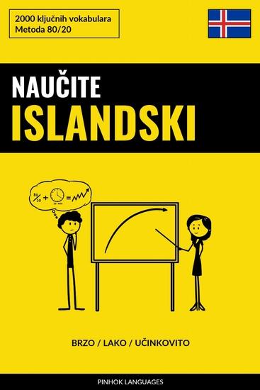 Naučite Islandski - Brzo Lako Učinkovito - 2000 ključnih vokabulara - cover