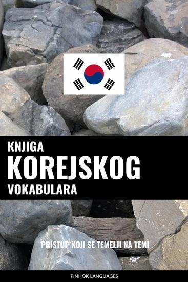 Knjiga korejskog vokabulara - Pristup koji se temelji na temi - cover