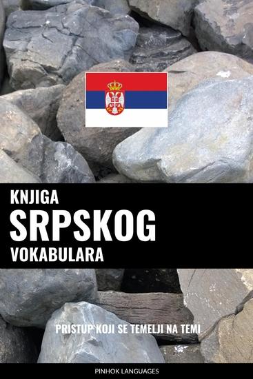 Knjiga srpskog vokabulara - Pristup koji se temelji na temi - cover