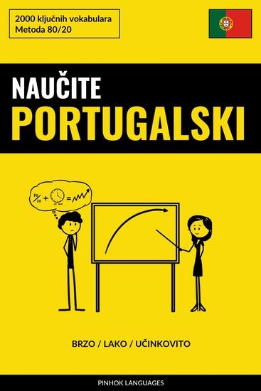 Naučite Portugalski - Brzo Lako Učinkovito - 2000 ključnih vokabulara - cover