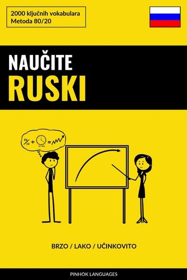 Naučite Ruski - Brzo Lako Učinkovito - 2000 ključnih vokabulara - cover