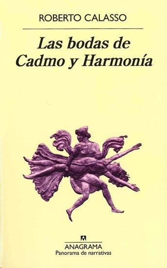 Las bodas de Cadmo y Harmonía - cover