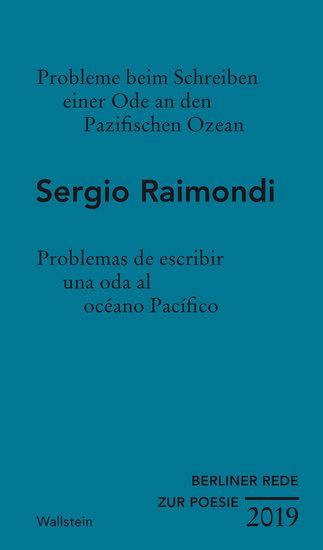 Probleme beim Schreiben einer Ode an den Pazifischen Ozean - Problemas de escribir una oda al océano Pacífico - cover