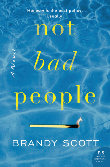 Not Bad People - A Novel - cover