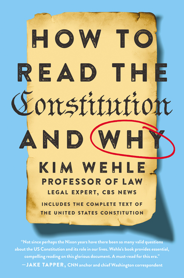 How to Read the Constitution--and Why - cover