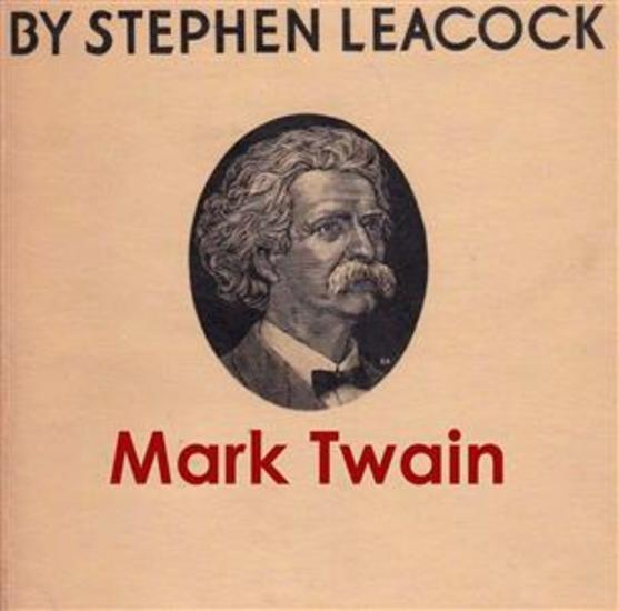 Mark Twain - cover