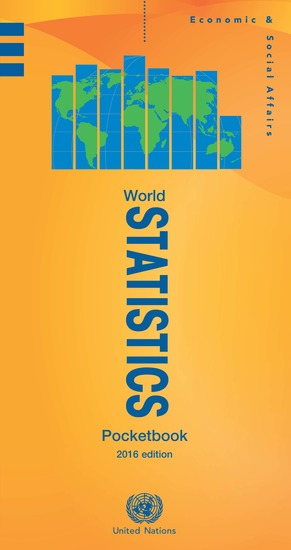 World Statistics Pocketbook 2016 Edition - cover