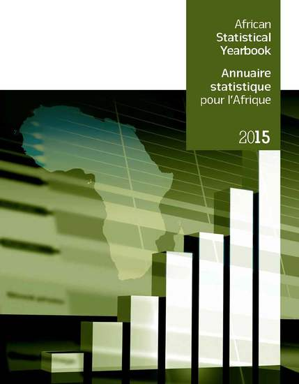 African Statistical Yearbook 2015 Annuaire statistique pour l'Afrique 2015 - cover