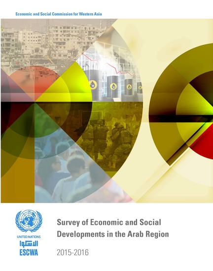 Survey of Economic and Social Developments in the Arab Region 2015-2016 - cover