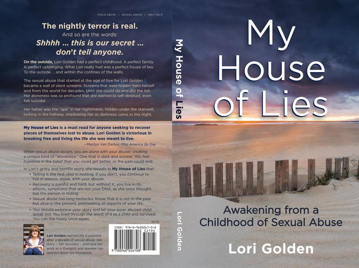 My House of Lies - Awakening from a Childhood of Sexual Abuse - cover