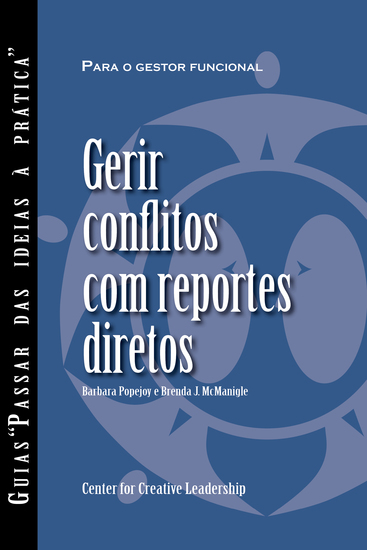 Managing Conflict with Direct Reports (Portuguese for Europe) - cover