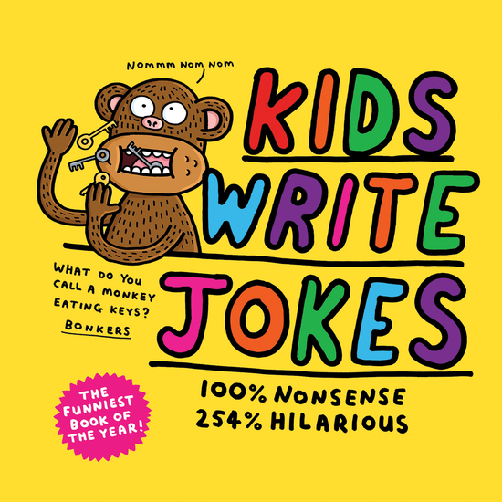 Kids Write Jokes - cover