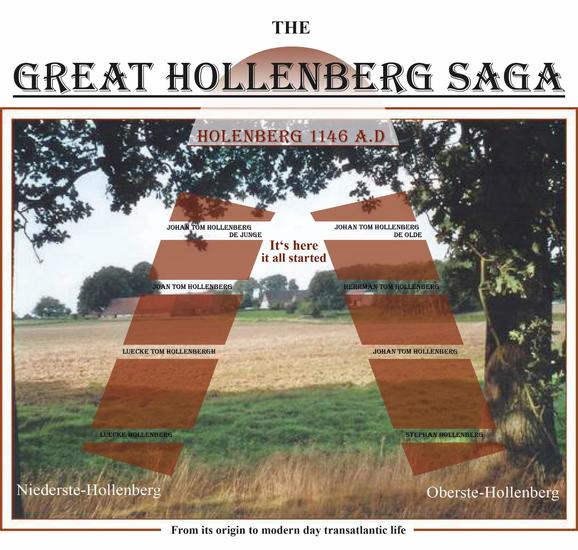 The Great Hollenberg Saga - cover