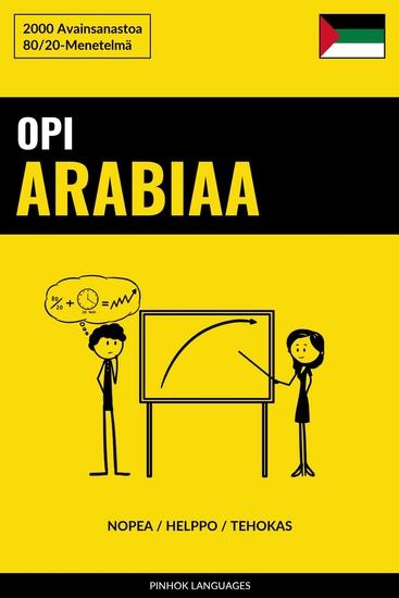 Opi Arabiaa - Nopea Helppo Tehokas - 2000 Avainsanastoa - cover