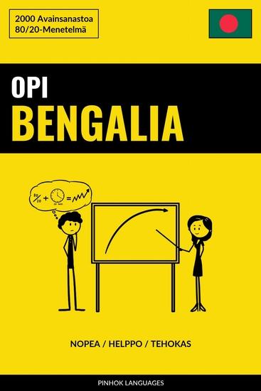 Opi Bengalia - Nopea Helppo Tehokas - 2000 Avainsanastoa - cover
