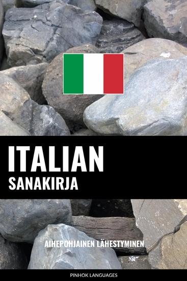Italian sanakirja - Aihepohjainen lähestyminen - cover