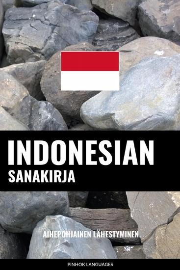Indonesian sanakirja - Aihepohjainen lähestyminen - cover
