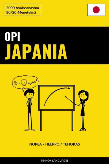 Opi Japania - Nopea Helppo Tehokas - 2000 Avainsanastoa - cover