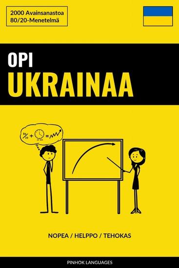 Opi Ukrainaa - Nopea Helppo Tehokas - 2000 Avainsanastoa - cover