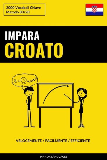 Impara il Croato - Velocemente Facilmente Efficiente - 2000 Vocaboli Chiave - cover