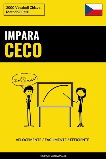 Impara il Ceco - Velocemente Facilmente Efficiente - 2000 Vocaboli Chiave - cover