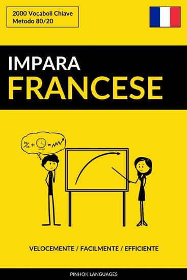 Impara il Francese - Velocemente Facilmente Efficiente - 2000 Vocaboli Chiave - cover