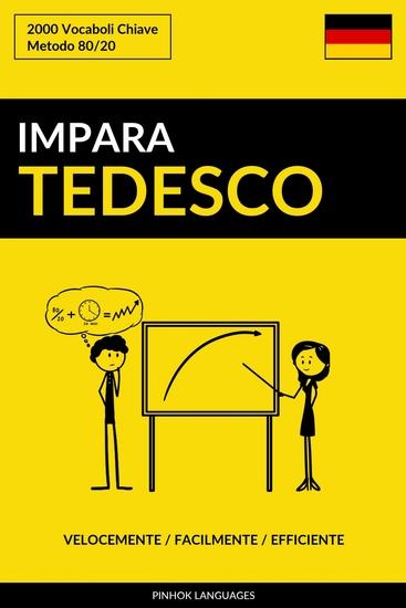 Impara il Tedesco - Velocemente Facilmente Efficiente - 2000 Vocaboli Chiave - cover