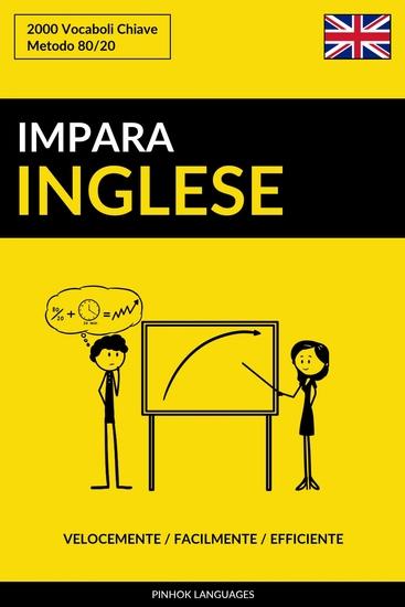 Impara l'Inglese - Velocemente Facilmente Efficiente - 2000 Vocaboli Chiave - cover