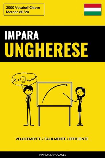 Impara l'Ungherese - Velocemente Facilmente Efficiente - 2000 Vocaboli Chiave - cover