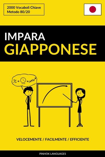 Impara il Giapponese - Velocemente Facilmente Efficiente - 2000 Vocaboli Chiave - cover