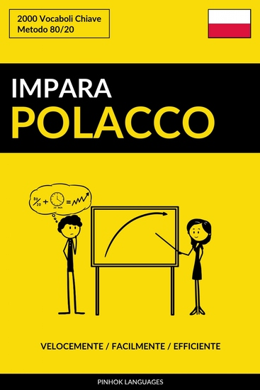 Impara il Polacco - Velocemente Facilmente Efficiente - 2000 Vocaboli Chiave - cover