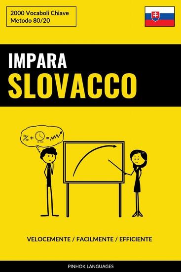 Impara lo Slovacco - Velocemente Facilmente Efficiente - 2000 Vocaboli Chiave - cover