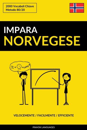 Impara il Norvegese - Velocemente Facilmente Efficiente - 2000 Vocaboli Chiave - cover