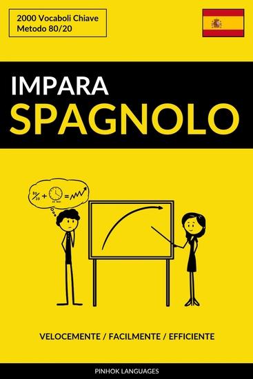 Impara lo Spagnolo - Velocemente Facilmente Efficiente - 2000 Vocaboli Chiave - cover