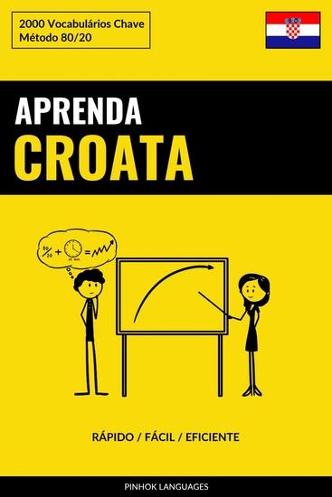 Aprenda Croata - Rápido Fácil Eficiente - 2000 Vocabulários Chave - cover