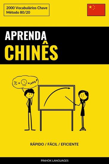 Aprenda Chinês - Rápido Fácil Eficiente - 2000 Vocabulários Chave - cover