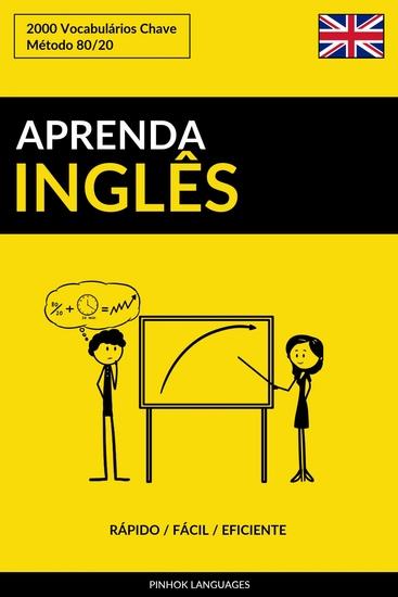 Aprenda Inglês - Rápido Fácil Eficiente - 2000 Vocabulários Chave - cover