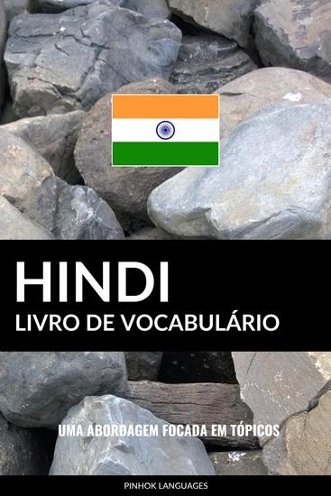 Livro de Vocabulário Hindi - Uma Abordagem Focada Em Tópicos - cover