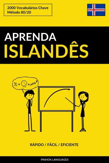 Aprenda Islandês - Rápido Fácil Eficiente - 2000 Vocabulários Chave - cover