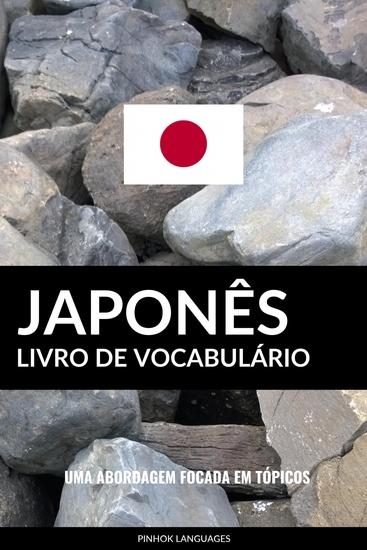 Livro de Vocabulário Japonês - Uma Abordagem Focada Em Tópicos - cover