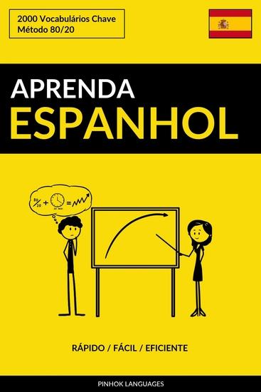 Aprenda Espanhol - Rápido Fácil Eficiente - 2000 Vocabulários Chave - cover