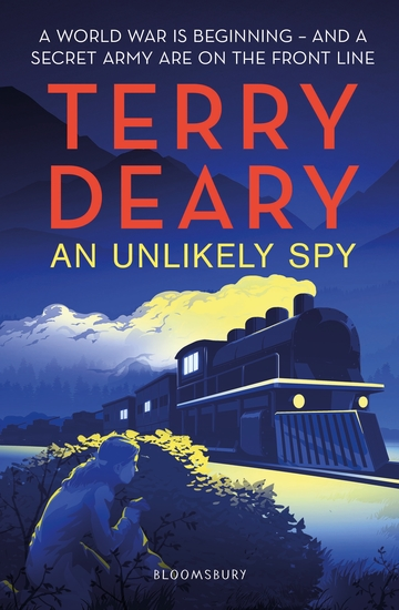 An Unlikely Spy - cover