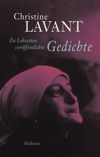 Zu Lebzeiten veröffentlichte Gedichte - cover