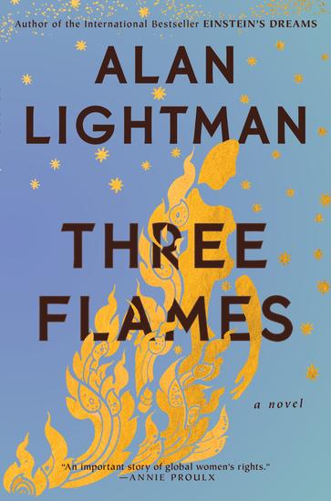 Three Flames - A Novel - cover