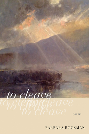 to cleave - poems - cover