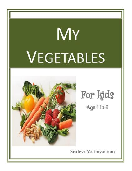 My Vegetables - Smart Kids - Vegetables #1 - cover