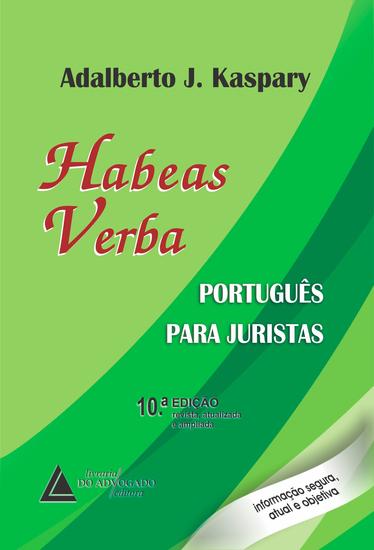 Habeas Verba Português para Juristas - cover