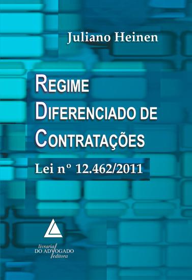 Regime Diferenciado de Contratações Lei n 12462 2011 - cover