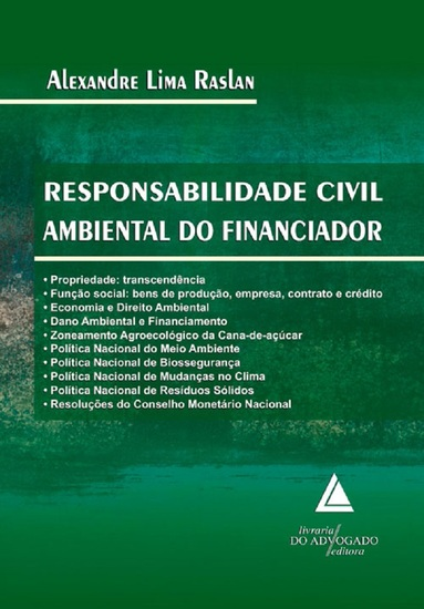 Responsabilidade Civil Ambiental do Financiador - cover