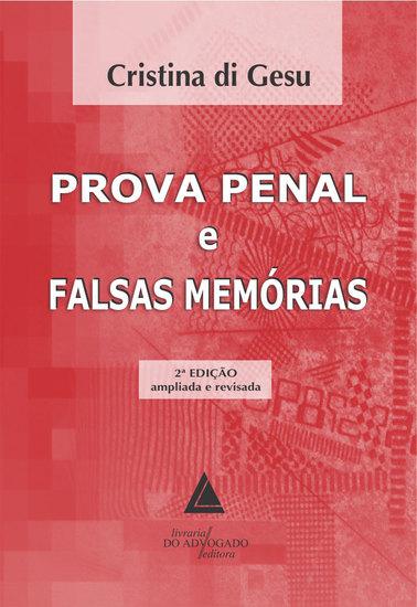 Prova Penal e Falsas Memórias - cover